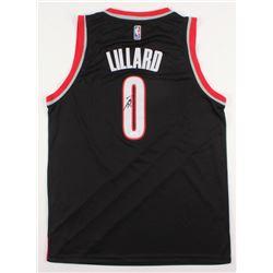 Damian Lillard Signed Portland Trail Blazers Jersey (JSA COA)