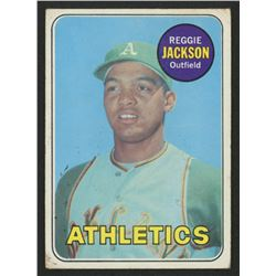 1969 Topps #260 Reggie Jackson RC