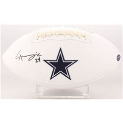 Chidobe Awuzie Signed Dallas Cowboys Logo Football (Prova COA)
