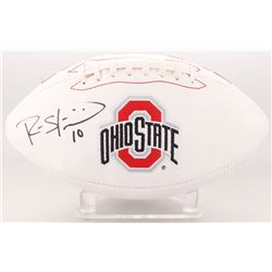 Ryan Shazier Signed Ohio State Buckeyes Logo Football (Beckett COA)