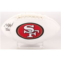 Matt Breida Signed San Francisco 49ers Logo Football (Beckett COA)