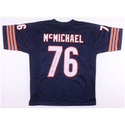 Steve McMichael Signed Chicago Bears Jersey (JSA COA)
