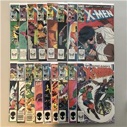 "Lot of (17) 1981-1984 Marvel ""Uncanny X-Men"" 1st Series Comic Books with #170, #172-178, #180, #182-"