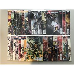 "Lot of (54) 2004-2012 Marvel ""X-Men / X-Men Legacy"" 1st Series Comic Books with #157-275"