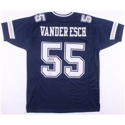 Leighton Vander Esch Signed Dallas Cowboys Jersey (Beckett COA)