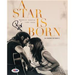 "Lady Gaga  Bradley Cooper Signed ""A Star Is Born"" 8x10 Photo (PSA LOA)"