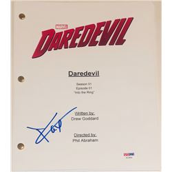 "Charlie Cox Signed ""Daredevil: Into the Ring"" Episode Script (PSA COA)"