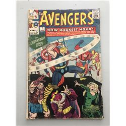 "1964 ""The Avengers"" First Series Issue #7 Marvel Comic Book"