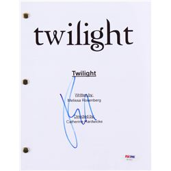 "Robert Pattinson Signed ""Twilight"" Full Movie Script (PSA COA)"