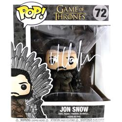 "Kit Harington Signed ""Game of Thrones"" #72 Jon Snow Funko Pop Figure (Radtke COA)"