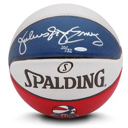 "Julius ""Dr. J"" Erving Signed Limited Edition ABA Spalding Basketball (UDA COA)"