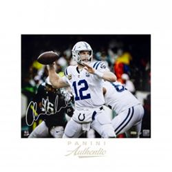 "Andrew Luck Signed Indianapolis Colts ""12"" 16x20 Limited Edition Photo (Panini COA)"