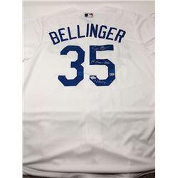 "Cody Bellinger Signed Dodgers Jersey Inscribed ""1st Career Cycle 7/15/17"" (Fanatics Hologram  MLB Ho"