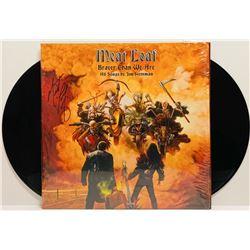 "Meat Loaf Signed ""Braver Than We Are"" LP Cover (JSA COA)"