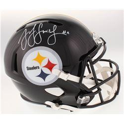 JuJu Smith-Schuster Signed Pittsburgh Steelers Full-Size Replica Speed Helmet (JSA COA)