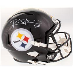 Ryan Shazier Signed Pittsburgh Steelers Full-Size Speed Helmet (Beckett COA)