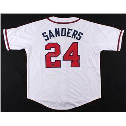 Deion Sanders Signed Atlanta Braves Jersey (Radtke COA)