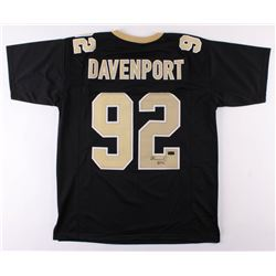Marcus Davenport Signed New Orleans Saints Jersey (Radtke COA)