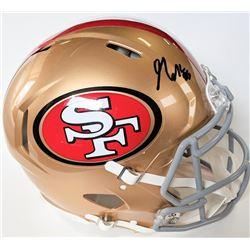 George Kittle Signed San Francisco 49ers Full-Size Authentic On-Field Speed Helmet (Beckett COA)