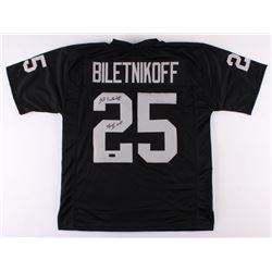 "Fred Biletnikoff Signed Oakland Raiders Jersey Inscribed ""SB XI MVP"" (Radtke COA)"