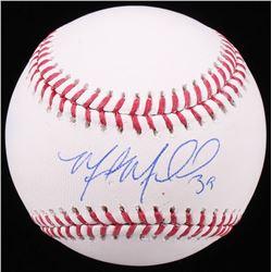 Miles Mikolas Signed OML Baseball (JSA COA)