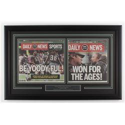 Philadelphia Eagles 18x28 Custom Framed Super Bowl LII Champions Daily News Cover