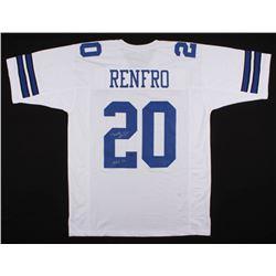 """Mel Renfro Signed Dallas Cowboys Jersey Inscribed """"HOF-96"""" (Schwartz COA)"""