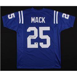Marlon Mack Signed Indianapolis Colts Jersey (Schwartz COA)