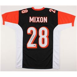 Joe Mixon Signed Cincinnati Bengals Jersey (Schwartz COA)