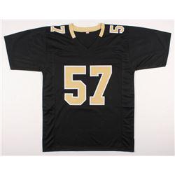 "Rickey Jackson Signed New Orleans Saints Jersey Inscribed ""HOF 2010"" (Schwartz COA)"