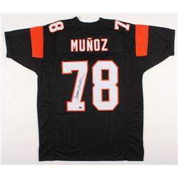 Anthony Munoz Signed Cincinnati Bengals Jersey (Schwartz COA)