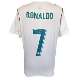 Cristiano Ronaldo Signed Real Madrid Adidas Jersey (Beckett COA)