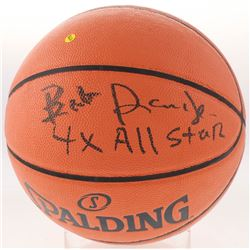 "Bob Dandrige Signed NBA Game Ball Series Basketball Inscribed ""4x All Star"" (Schwartz COA)"