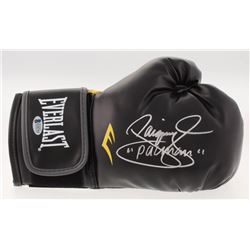 """Manny Pacquiao Signed Everlast Boxing Glove Inscribed """"Pacman"""" (Beckett COA)"""