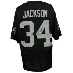 Bo Jackson Signed Los Angeles Raiders Jersey (Beckett COA)