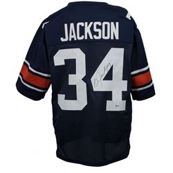 Bo Jackson Signed Auburn Tigers Jersey (Beckett COA)