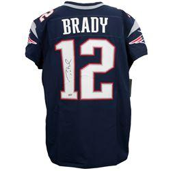 Tom Brady Signed Authentic Nike Elite New England Patriots Jersey (TriStar Hologram)