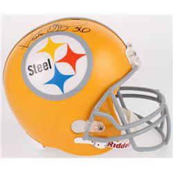 Jerome Bettis Signed Pittsburgh Steelers Full-Size Throwback Helmet (JSA COA)