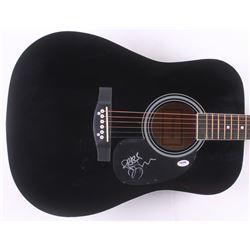"Tim Reynolds Signed 38"" Acoustic Guitar Inscribed ""Peace"" (PSA COA)"