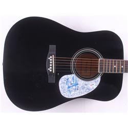 """James Taylor Signed 38"""" Acoustic Guitar (PSA Hologram)"""