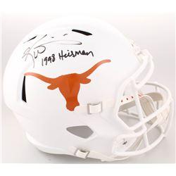"Ricky Williams Signed Texas Longhorns Full-Size Speed Helmet Inscribed ""1998 Heisman"" (Radtke COA)"