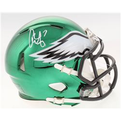 Alshon Jeffery Signed Philadelphia Eagles Chrome Speed Mini-Helmet (Radtke COA)