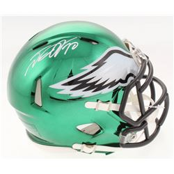 DeSean Jackson Signed Philadelphia Eagles Chrome Speed Mini-Helmet (Radtke COA)