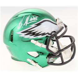 Brandon Graham Signed Philadelphia Eagles Chrome Speed Mini-Helmet (Radtke COA)