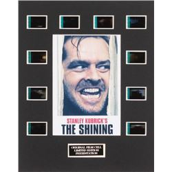 """The Shining"" LE 8x10 Custom Matted Original Film / Movie Cell Display"