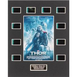 """Thor: The Dark World"" LE 8x10 Custom Matted Original Film / Movie Cell Display"