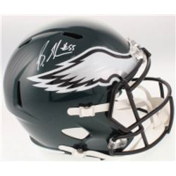 Brandon Graham Signed Philadelphia Eagles Full-Size Speed Helmet (Radtke COA)