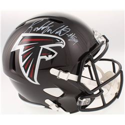 Roddy White Signed Atlanta Falcons Full-Size Speed Helmet (JSA COA)