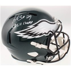 "LeGarrette Blount Signed Philadelphia Eagles Full-Size Speed Helmet Inscribed ""SB LII Champ"" (Radtke"