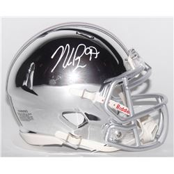 Nick Bosa Signed Ohio State Buckeyes Chrome Speed Mini Helmet (Radtke COA)